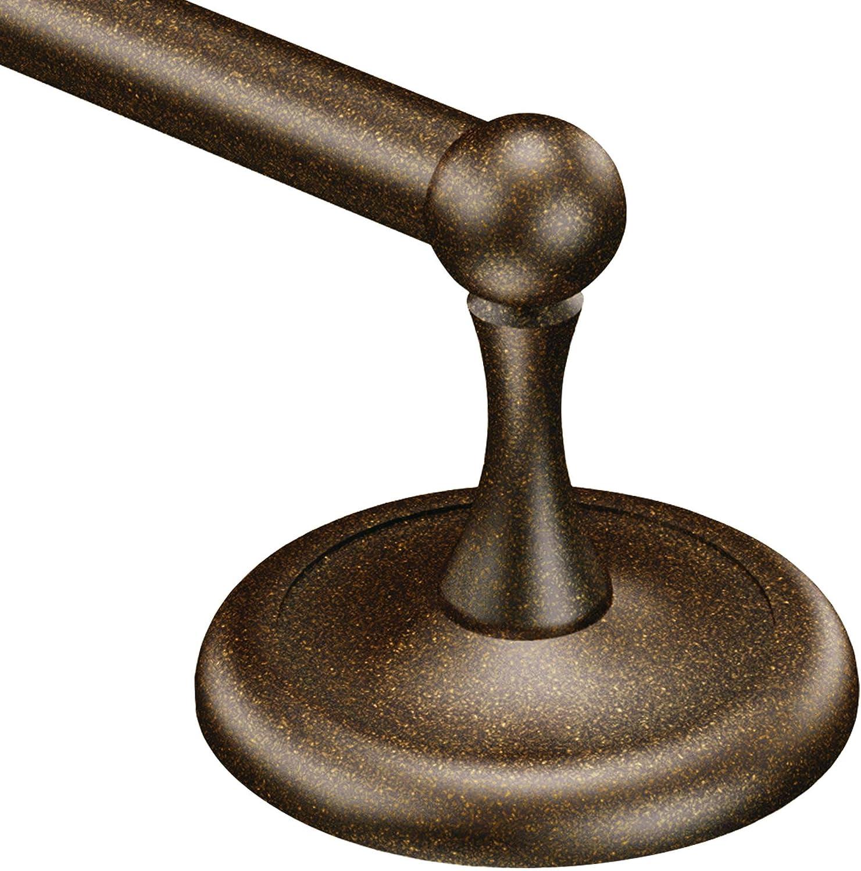 Moen BP5324OWB Yorkshire 24-Inch Towel Bar, Old World Bronze