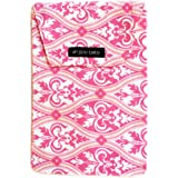 Ah Goo Baby Diaper Travel Pouch, Pink, Charleston Pattern
