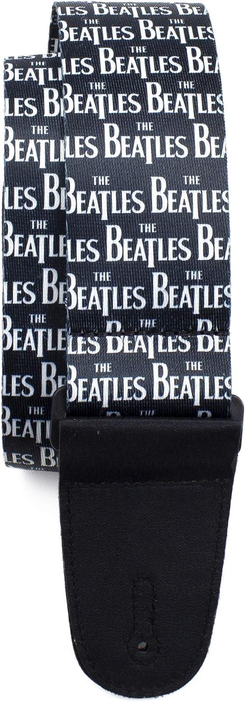 Perri's Leathers Ltd. - The Beatles - Correa de guitarra - Past Masters - Producto con Licencia Oficial - Ajustable - Para guitarras acústicas/bajas/eléctricas - Fabricada en Canadá (LPCP-6103)