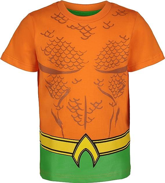 DC Comics Aquaman Justice League Boys Superhero T Shirt