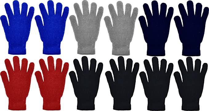 2ND DATE Kids Winter Magic Gloves-Pack of 12