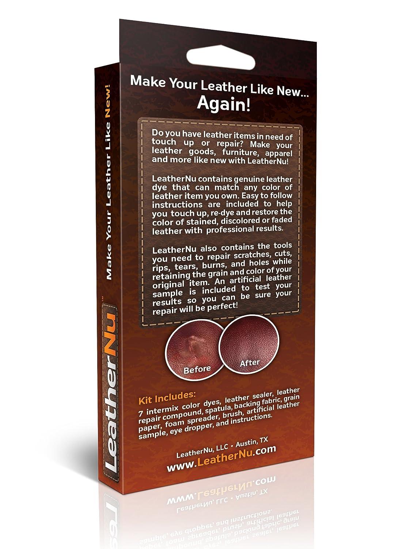 Attirant Amazon.com: LeatherNu Complete Leather Color Restoration U0026 Repair Kit:  Automotive