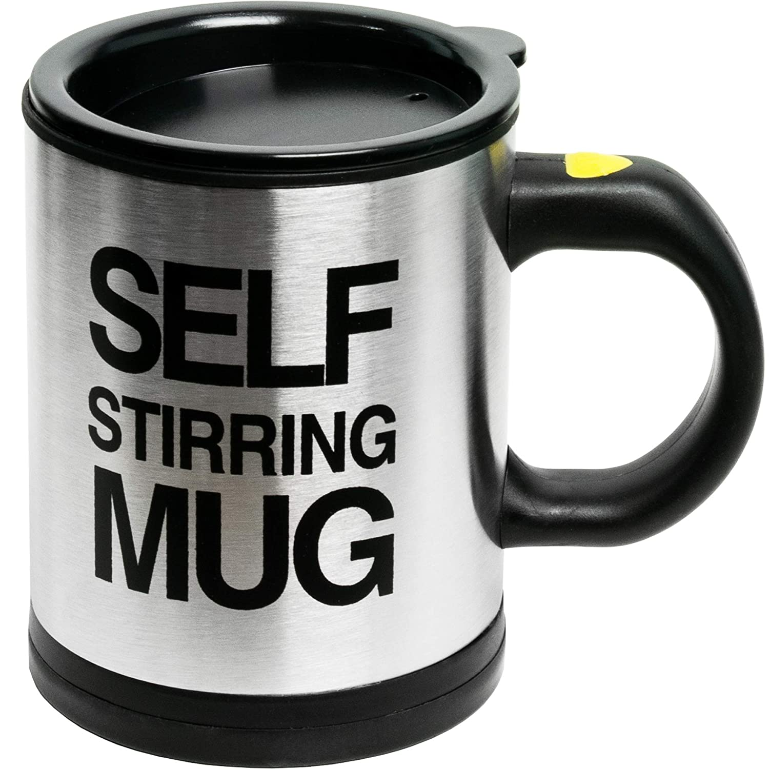 7e0ca2af6ee Self Stirring Coffee Mug Cup - Funny Electric Stainless Steel Automatic  Self Mixing & Spinning Home Office Travel Mixer Cup Best Cute Christmas ...