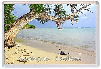 Kühlschrank Querformat : Guadeloupe u2013 karibik u2013 jumbo kühlschrank magnet geschenk souvenir