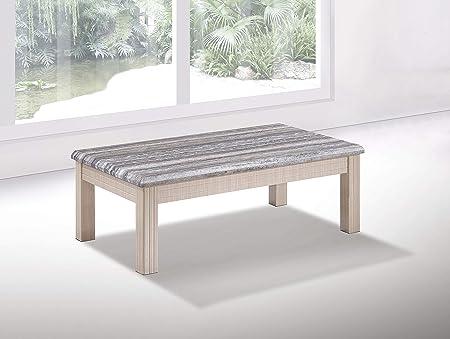 Furniture Express - Mesa de Centro Rectangular Brillante con ...