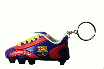 FC Barcelona Logo BLUE RED Soccer Shoe Cleat Keychain .. .. New