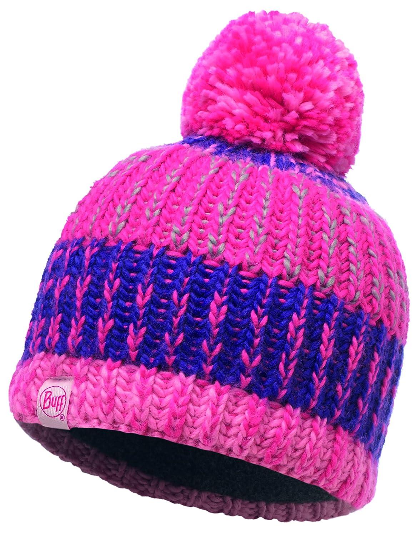 Buff Mädchen Knitted and Polar Hat Kopfbedeckungen Amaranth Purple One Size Original Buff S.A.