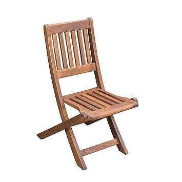 benelando silla plegable de madera de acacia para niños ...