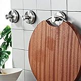 JOMOLA 2PCS Bathroom towel hook suction cup holder