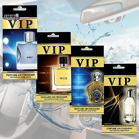 VIP Luxus-Parf/üm f/ür Ihr Auto Lufterfrischer Caribi