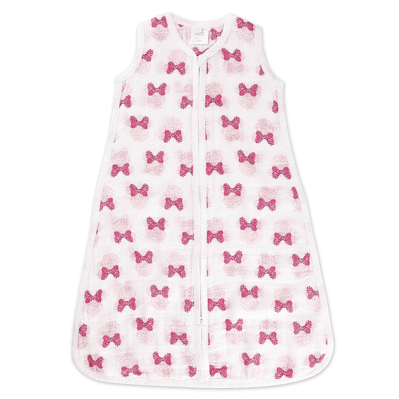 Saco de dormir para el verano aden by aden. Grado de espesor (TOG) 1,0. Estampado de Minnie Mouse (0-6 meses): Amazon.es: Bebé