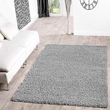 Shaggy Teppich Hochflor Langflor Teppiche Wohnzimmer Preishammer Versch.  Farben, Größe:70x140 Cm,