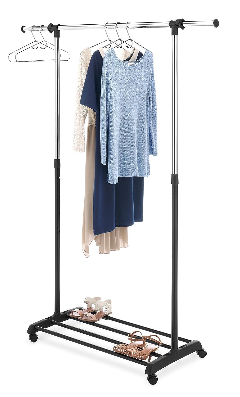 Amazon.com: Whitmor, perchero de lujo para ropa, regulable ...