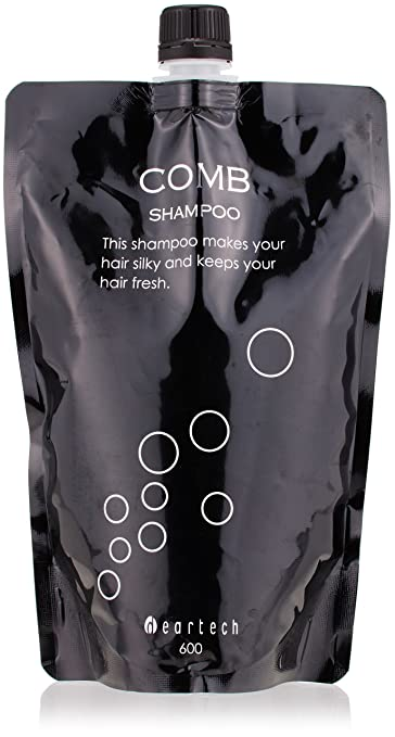 1b1d66dfa4c42d Amazon.com   Dear Tech COMB (Konburiansu) Shampoo 600ml refill by Deer Tech    Beauty