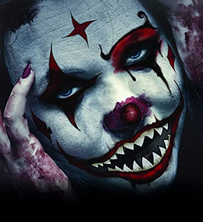 Halloween Make Up Men.Halloween Realistic Temporary Costume Make Up Face Tattoo Kit Men Or Women Adult