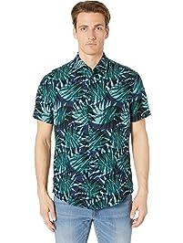 088bb78f3 Hugo Boss Men's Rash Short Sleeve Button Down Regular Fit Shirt