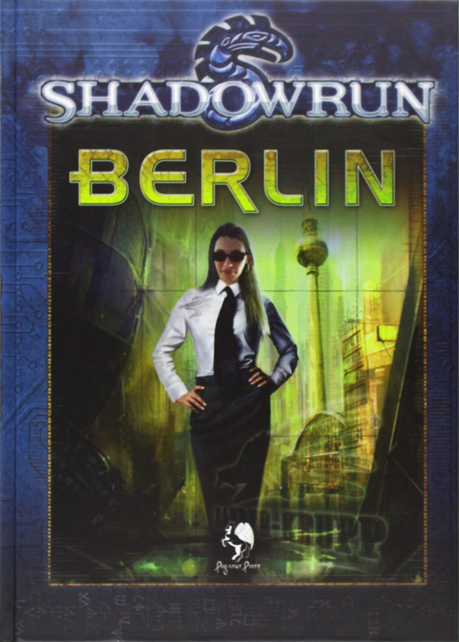 Shadowrun Berlin Gebundenes Buch – März 2011 Tobias Hamelmann Pegasus Spiele 3941976249 Spielen / Raten
