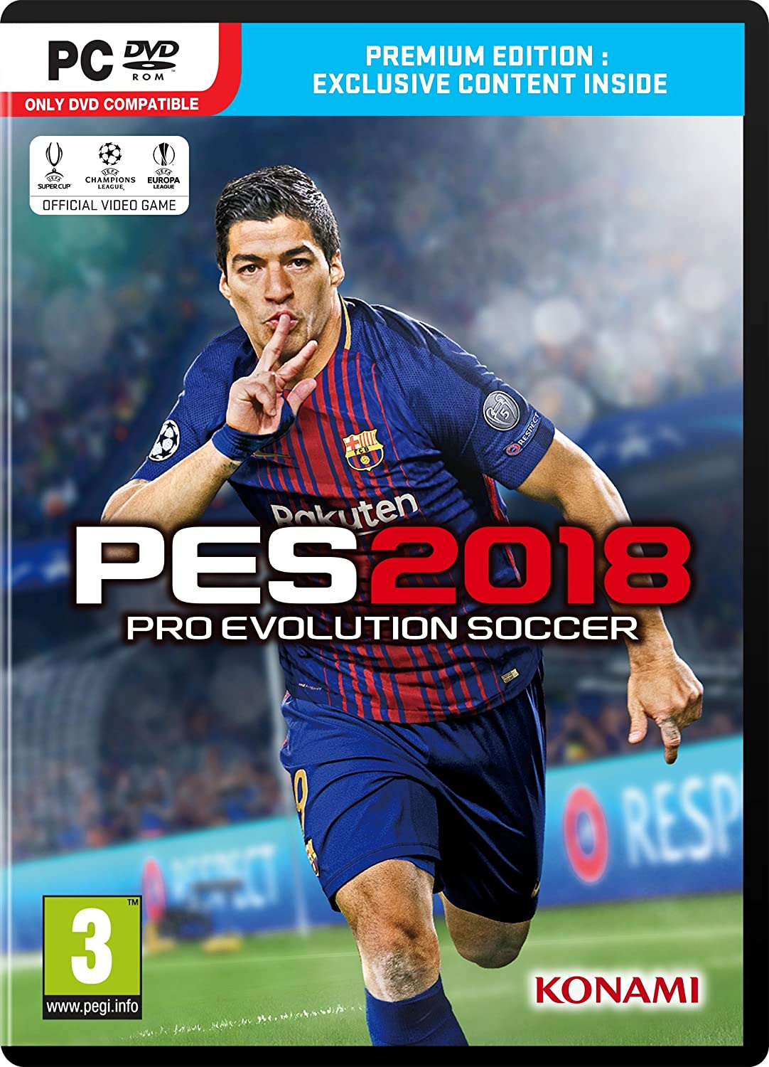 PES 2018 (PC DVD): Amazon co uk: PC & Video Games