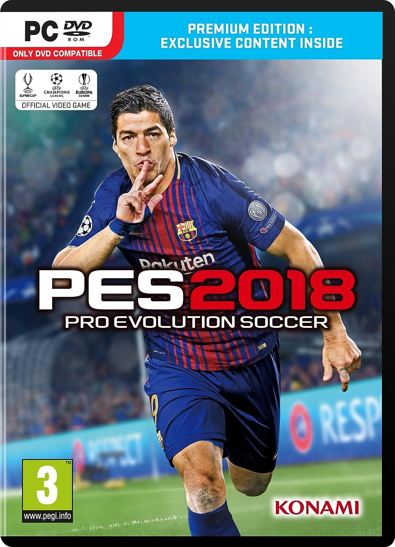 بازی PES 2018 برای PC + کرک