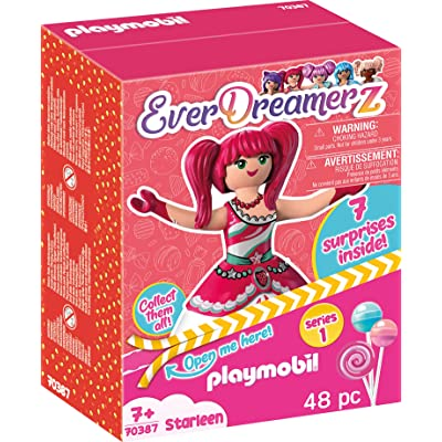 PLAYMOBIL EverDreamerz Starleen with Strawberry Ice Cream Charm & 7 Surprises: Toys & Games