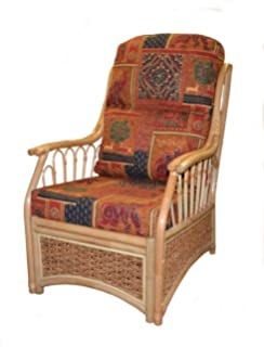 Gilda Replacement CHAIR Cane Furniture COMPLETE CUSHIONS ONLY Conservatory  Wicker Rattan Part 75
