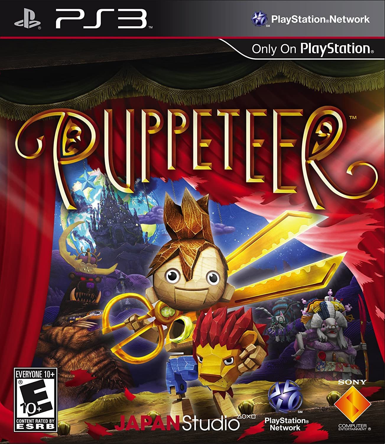 Amazon com: Puppeteer - Playstation 3: Sony Computer