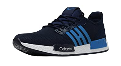 cc634dd1675874 calcetto Men's Mesh Sports Running Shoes (fs6_9, 9, Navyblue): Buy ...