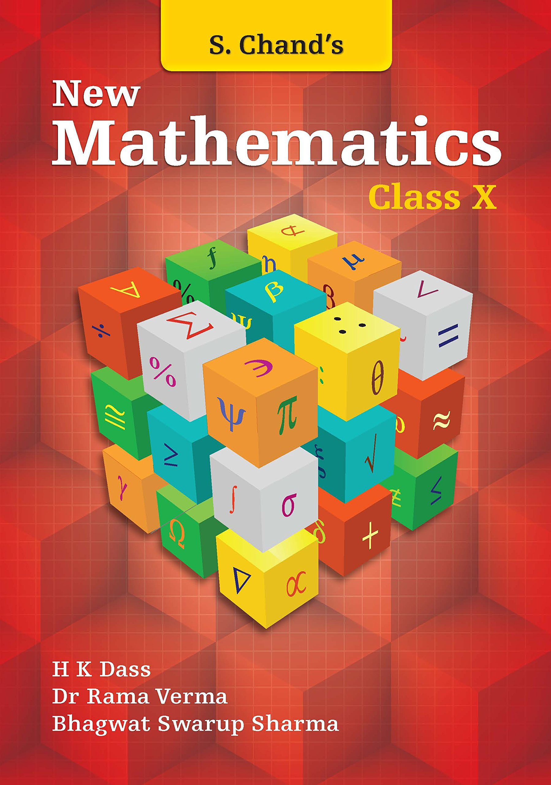 S Chand's New Mathematics for Class X 2018-19 Session