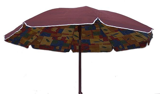 Joy Summer Sombrilla Playa (Polycotton 200 cm) Lido Playa Tindari - Burdeos: Amazon.es: Jardín