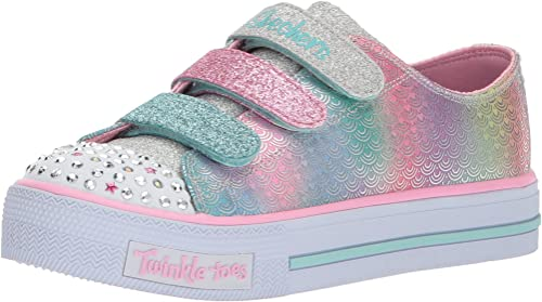 Caballero Disipar Campaña  Amazon.com | Skechers Kids' Shuffles-Ms. Mermaid Sneaker | Sneakers