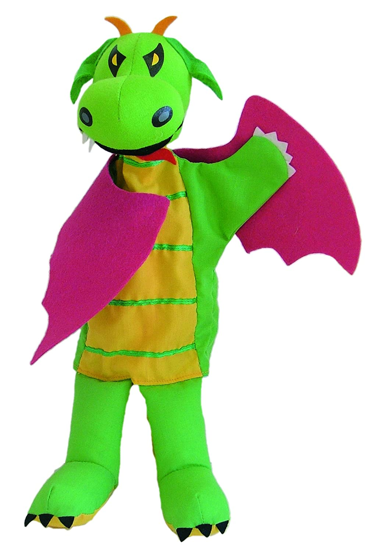 Sycomore MA35015 - Marionnette à Main 35 cm - Dragon - MA35015