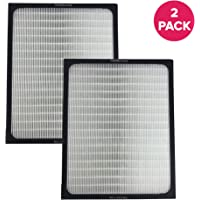 2 Replacements for Blueair Deluxe 200/300 Series Air Purifier Filter W/ Built-In Odor Neutralizing Particle Pre-Filter Fits ALL 200 & 300 Series Air Purifiers by Think Crucial