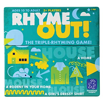 Educational Insights Rhyme Out!: Toys & Games [5Bkhe0805042]