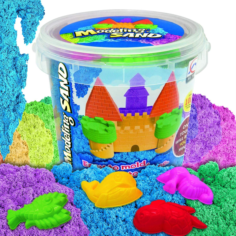 Arena Limpia Spin Master 6028533 Color p/úrpura Kinetic Sand
