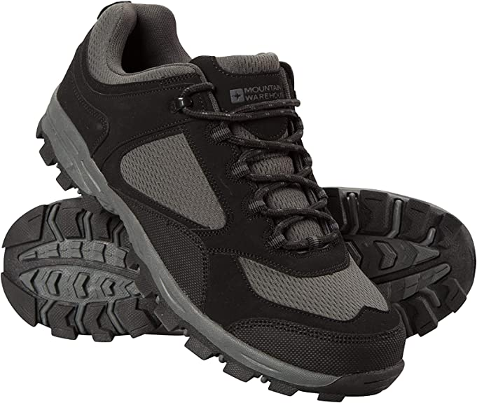 Mountain Warehouse Mens Waterproof Shoes with Mesh Lining /& Eva Moulded Footbed