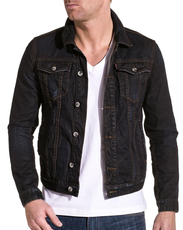 Gov denim - Denim jacket man - Color: Blue Size: L