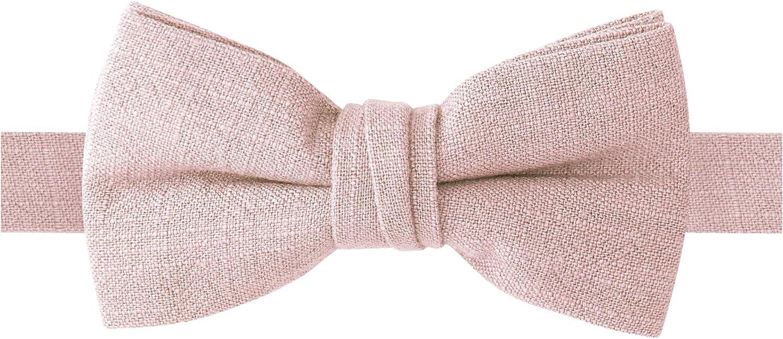 Spring Notion Boys Linen Blend Bow Tie