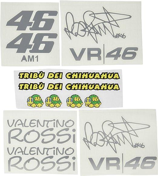 Ecoshirt W4 4dox Ti0q Sticker Am1 Tribu Chihuahua Rossi Vr46 Stickers Decals Sticker The Doctor Silver Auto