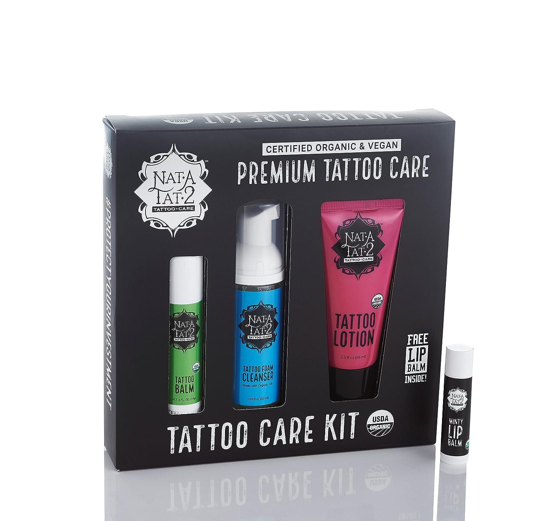 Nat A Tat 2 Kit de cuidado del tatuaje: Amazon.es: Belleza