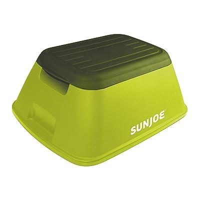 Sun Joe SJ-SFSTL8 7.75 Inch Safety Garden/Home Stool, Green: Garden & Outdoor
