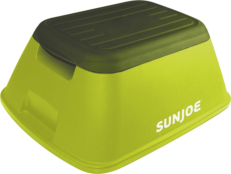 Sun Joe SJ-SFSTL8 7.75 Inch Safety Garden/Home Stool, Green