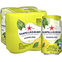 San Pellegrino Pompelmo Can, 330ml, (Pack of 4)