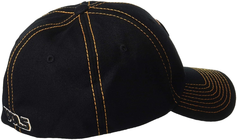 Medium//Large Zephyr Mens Finisher Z-Fit Cap Black