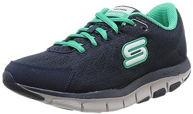 Skechers Shape Ups - Liv Go Spacey, Chaussures tonifiantes femme - Gris (Lghp), 35 EU (2 UK) (5 US)