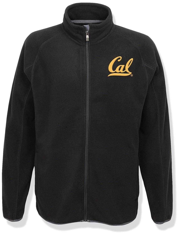 NCAA California Golden Bears Mens  Outerstuff Scrimmage Full Zip Jacket Medium Black