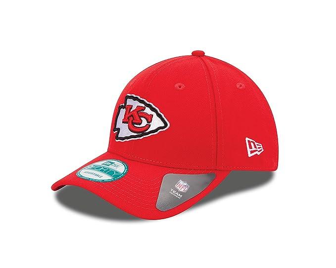 b83e9adabf786 Amazon.com   NFL The League Kansas City Chiefs 9Forty Adjustable Cap    Sports Fan Baseball Caps   Clothing