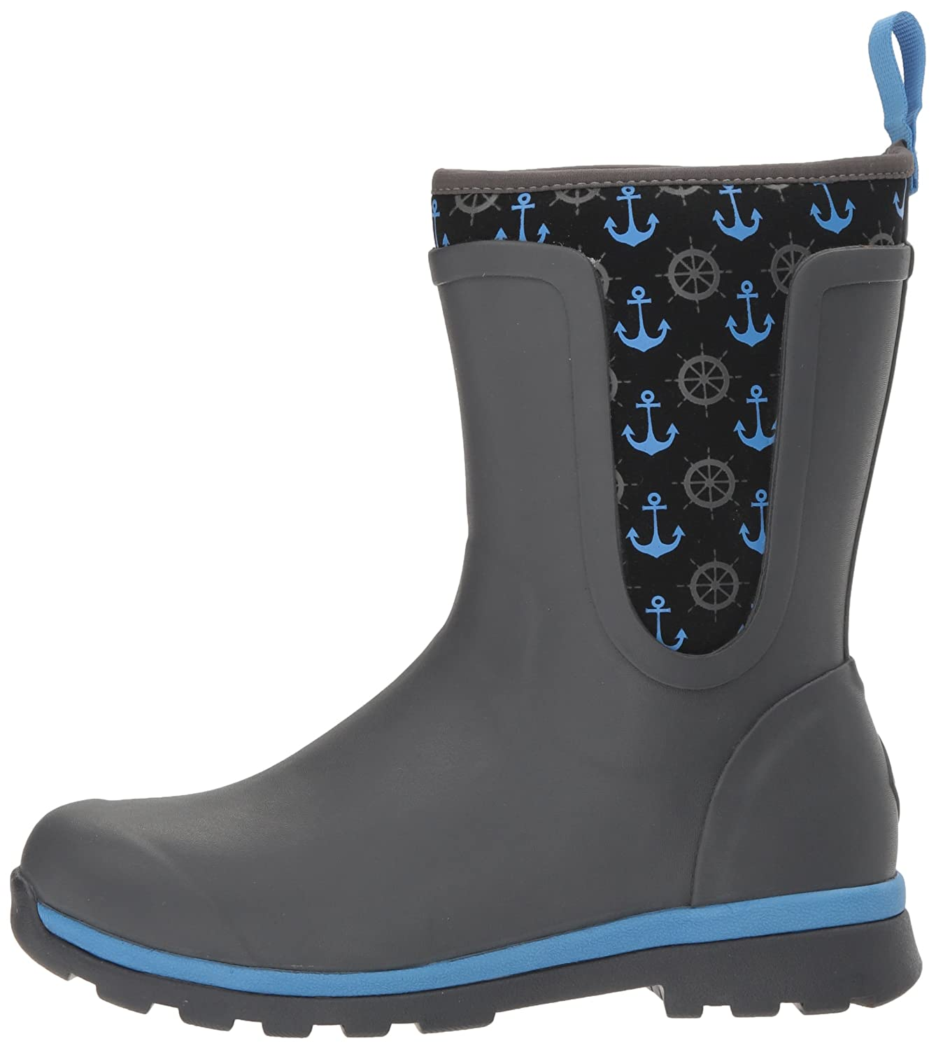 Muck B(M) Boot Women's Cambridge Mid Snow B01N22NODB 7 B(M) Muck US|Gray With Blue Anchors c397ee