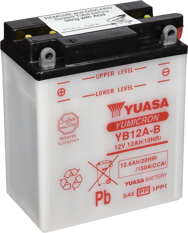 Yuasa Batterie Yb12a B Offen Ohne Saeure Auto