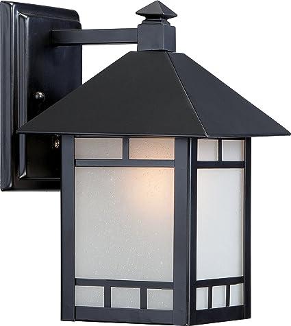 Amazon.com: Nuvo iluminación Drexel, uno luz Farol de pared ...