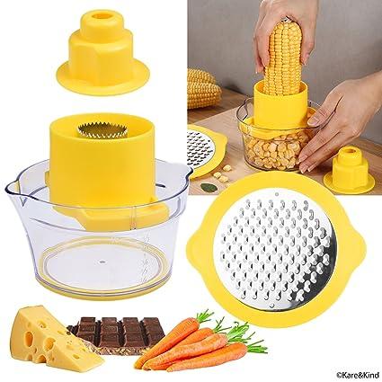 Corn cob stripper electric